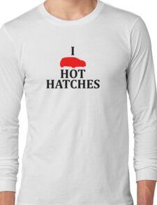 I Heart Hot Hatches Long Sleeve T-Shirt