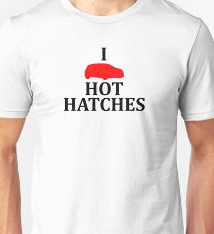 I Heart Hot Hatches Unisex T-Shirt