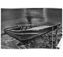 Abanonded Boat Poster