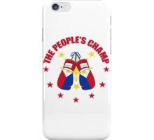 NEW! Manny The People's Champ Boxing iPhone Case/Skin