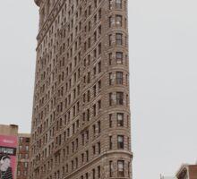 Flatiron Building NYC Sticker