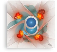 'Light Flame Abstract 333' Canvas Print