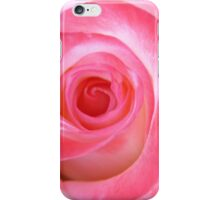 Pink White Rose iPhone Case/Skin