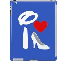 I Heart Cinderella (Inverted) iPad Case/Skin