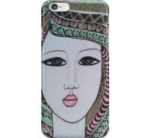 Pattern Portrait V iPhone Case/Skin