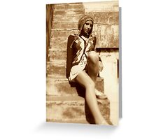 """Kore """"Long legs and all"""" Greeting Card"""