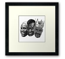 Shaq is the King of NBA Framed Print