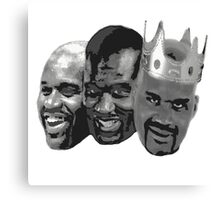 Shaq is the King of NBA Canvas Print