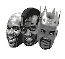 Shaq is the King of NBA Photographic Print