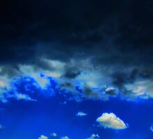Storm Moving Away From Me - HDR by Sanguine