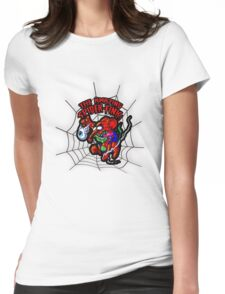 SPIDER FINK Womens Fitted T-Shirt