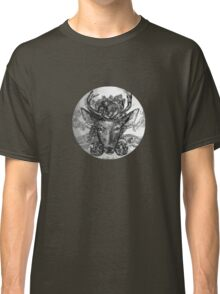 Deer: Black and White  Classic T-Shirt