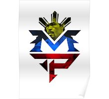 MP Logo, Manny Pacquiao Poster