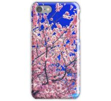 Bubble Gum Cherry Blossoms iPhone Case/Skin
