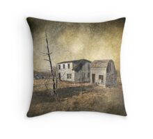 Decaying Dreams Throw Pillow