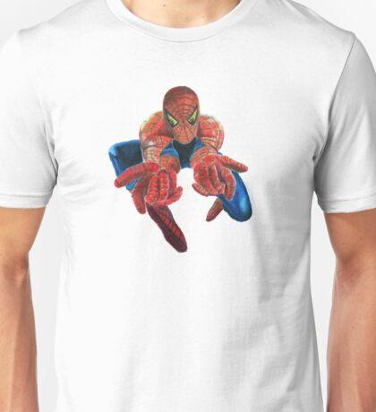 Flying Spiderman! Unisex T-Shirt