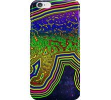 Rainbow Ocelot in space! iPhone Case/Skin