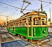 Docklands Tram by mauricegue