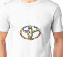 Toyota sticker bomb Unisex T-Shirt