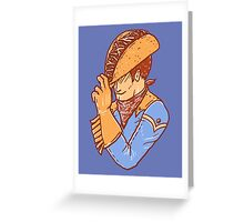 Taco Cowboy Greeting Card
