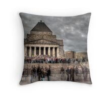 Anzac Day - 25/04/09 Throw Pillow