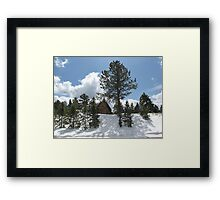 Barn near Berthoud Pass Colorado Framed Print