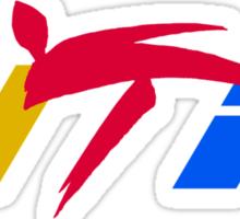 world taekwondo Sticker