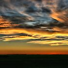October Sunset by Vickie Emms