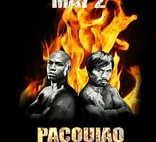 Pacquiao vs Mayweather, May 2 by ches98