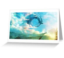 The Storm King Greeting Card