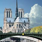 Cathedrale Notre Dame de Paris by phil decocco