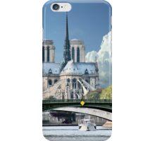 Cathedrale Notre Dame de Paris iPhone Case/Skin