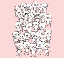 Crazy Panda (White) by Zach Wong
