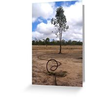 Tree & Cable Greeting Card