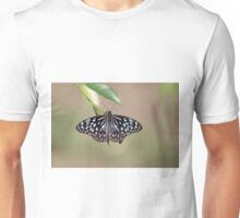 Blue Tiger Butterfly-7156 (Tirumala hamata) Unisex T-Shirt