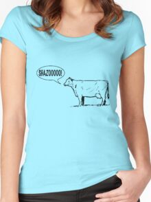 European Cows Women's Fitted Scoop T-Shirt