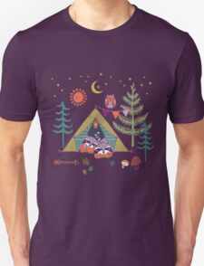 Woodland Animals Campout T-Shirt