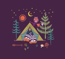 Woodland Animals Campout Unisex T-Shirt