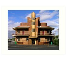 United Kingdom Hotel (former), Clifton Hill, Melbourne Art Print