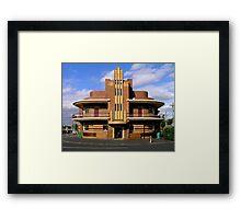 United Kingdom Hotel (former), Clifton Hill, Melbourne Framed Print