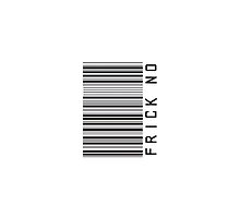 Frick No Barcode Phone Case or Sticker - Horizontal by livvalla
