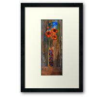 Marble Vase Framed Print