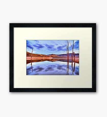 Symmetry Framed Print