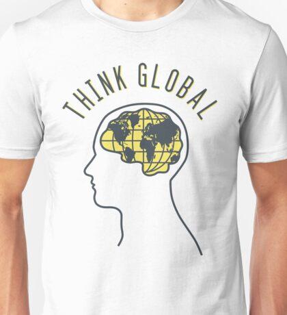 Think Global Unisex T-Shirt