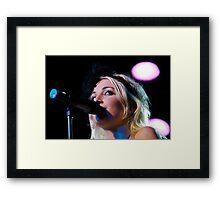 Kate Miller-Heidke in Concert Framed Print
