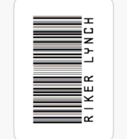 Riker Lynch Barcode Phone Case or Sticker - Horizontal Sticker