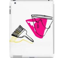 Paint Brush and Can iPad Case/Skin
