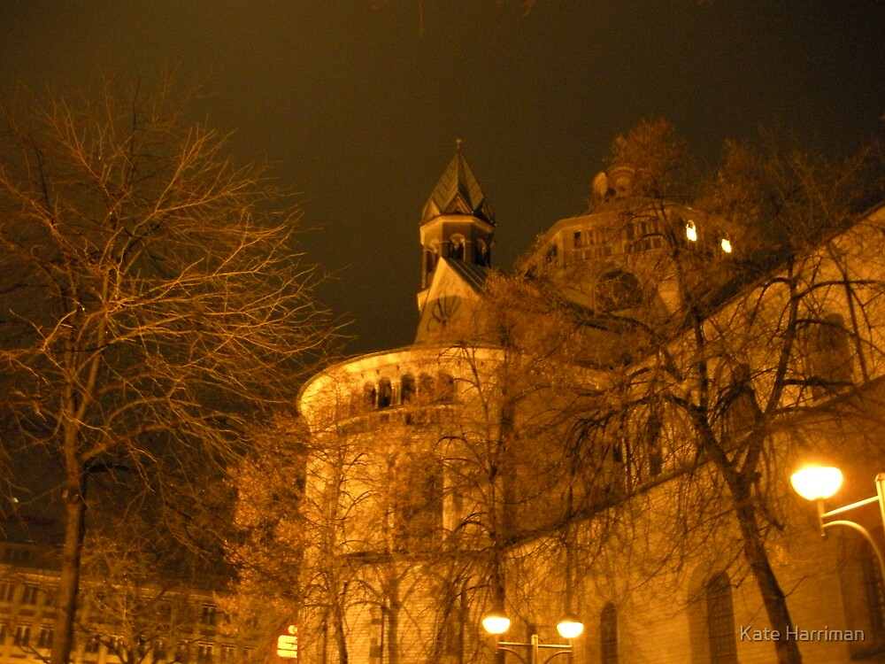 December Evening in Cologne by Kate Harriman
