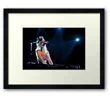 Kate Miller-Heidke in Concert - 2 Framed Print