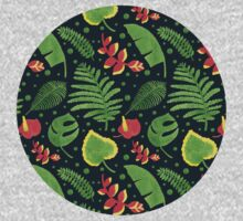 The Tropical Plant Baby Tee